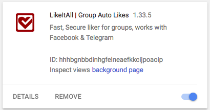 Update your LikeItAll Extension | LikeItAll